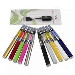 Canada Gros EGO CE4 Blister Pack Kit 650mAh 900mAh 1100mAh EGO T Batterie CE4 Atomiseur Clearomizer Kit De Démarrage Cigarette Électronique cheap wholesale pack clearomizer Offre