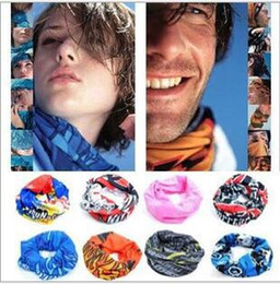 Wholesale Cycling Promotion - hot sale Scarf Outdoor 205 colors Promotion Multifunctional Cycling Seamless Bandana Magic Scarfs Women Men Hot Hair band Scarf M026