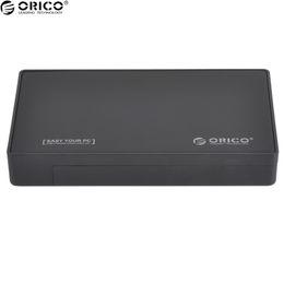 Toptan-ORICO 3.5 Inç HDD / SSD Harici Sabit Disk Muhafaza Arabirim USB3.0 SATA I, II, III Aracı Ücretsiz PC Sabit Disk Kutusu cheap ssd hard drive for pc nereden pc için sdd sabit disk tedarikçiler