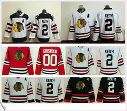 Wholesale Cheap Red Sweaters - Chicago blackhawks Ice hockey mens sports embroidery cheap sweaters jerseys #00 Clark Griswold #2 Duncan Keith Winter classic Stadium series