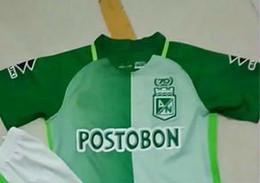 Wholesale Athletic Boy Shorts - 2017 2018 Kids National athletics Colombia AtlEtico Nacional jerseys Home AWAY 2017 2018 AtlEtico Nacional shirts shirt