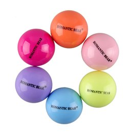 Wholesale Ball Lip Balm Wholesale - Round Ball 3D Lipstick Makeup Moisturizing Lip Balm Natural Plant Sphere lip Pomade Fruit Embellish Lip Care 6colors