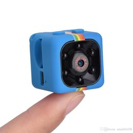 Wholesale Dvr Camera Voice Recording - SQ11 Mini Camera Car DVR 12MP Motion Sensor Full HD 1080P Camcorder Night Vision Camera Aerial Sports DV Voice Video Record
