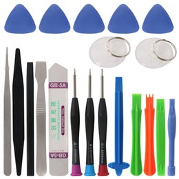 Wholesale Tool Kits For Cellphones - 20 in 1 Mobile Phone Repair Tools Set Kit Pry Opening Tool Screwdriver for iPhone iPad Samsung Cellphone Hand Repair Tools Set