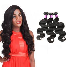 Brezilyalı Vücut Dalga Gerçek Bakire Insan Saçı 3 Demetleri Işlenmemiş Malezya Perulu Brezilyalı İnsan Saç Uzatma Doğal Renk Örgüleri cheap real peruvian hair weave nereden gerçek perulu saç örgüsü tedarikçiler