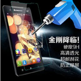 lenovo k5 Coupons - Wholesale- 9H Tempered Glass For Lenovo K4 K3 Note A2010 Vibe S1 Lite Z2 Zuk Pro K5 Plus A536 A1000 A5000 S60 S90 S580 P70 Z90 P1M P2 Case