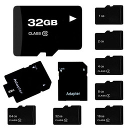 Wholesale Micro Sd Memory 4gb - For Android Smartphone Real C4 2GB 4GB 8GB C6 16GB C10 32GB 64GB MircoSD Micro SD TF Memory Card