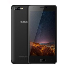 """Wholesale Doogee Android - DOOGEE X20 5MP+5MP Dual Back Camera 2GB+16GB Smartphone Android 7.0 MTK6580 Quad Core Cellphone 5.0"""" HD 3G WiFi GPS Mobile Phone"""