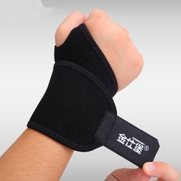Wholesale Dumbbells Hands - Wholesale- Sports wristband Tennis Volleyball wrist support Weightlifting dumbbells barbells fitness Hand weights