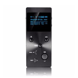 Wholesale 1gb Music Player - Wholesale- XDUOO X3 mp3 player Professional Lossless HIFI Music MP3 Music Player With HD OLED Screen Support 256GB TF Card Free Shipping