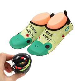 Wholesale Shoes For Swimming - Quick Dry Children Boys Shoes Animal Print Sport Running Anti-slip For Swimming Pool Beach Kid Shoe Boy Girl Sneakers