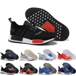 Wholesale Football Boots Free Shipping - 2017 Wholesale Discount New NMD Runner Primeknit Men'S Running Shoes Fashion Running Sneakers for Men and Women Size US11.5 Free Shipping