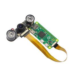 Caméra vision nocturne Raspberry Pi Zero Nuit + 2pcs IR Module de caméra 5MP pour caméra framboise zéro grand angle Fish Eye Webcam ? partir de fabricateur