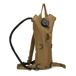 Wholesale Mountain Camping Hiking Backpack Bag - Durable Nylon Outdoor Sports Water Backpack Mountain Hiking Tactical Hydration Water Backpack Bag with Bladder Free Shipping