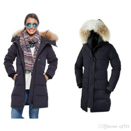Wholesale Down Proof - fashion long ladies down jackets Hoodie Down Jacket best quality cold-proof keep warm coat good quality free shipping