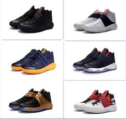 Wholesale Samurai Fashion - 2016 New Fashion Kyrie Irving 2 Men's Basketball Shoes Kyrie2 Edition Grey Wolf Samurai Star Irving2 Sports Training Sneakers US 7-12