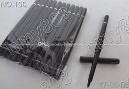 Wholesale Waterproof Liquid Eyeliner Brown - New Makeup Eyes Rotary Retractable With Vitamine A&E Waterproof Eyeliner Pencil!Black Brown