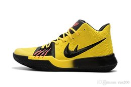 Wholesale Fabric Shoes Pattern - Buy kyrie 3 Mamba Mentality for sale free shipping high quality Kyrie Irving bruce lee Basketball shoes With Box US7-US12