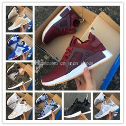 Wholesale Chocolate Footwear - 2017 New NMD XR1 green Duck Camo Sneakers Women White Duck Camo Footwear mens Running Shoes for men sports shoes size 36-45 free shippping