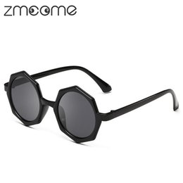 Wholesale Round Geek Glasses - Wholesale-Fashion Casual Women Sunglasses Hipster Geek Famous Round Sun Glasses Brand Designer Female Points Lunette Oculos De Sol OLO501