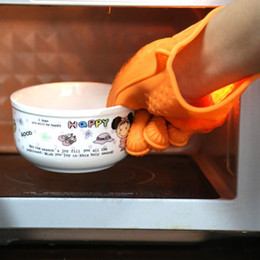panelas de microondas Desconto Luvas Eco amigável calor Luvas Titular isolamento de silicone Cozinha Forno Micro-derrapante Pot Kitchen Tools churrasco Grelhar Cozinhar