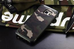 iphone s6 nuevo pc Rebajas 2017 nuevo ejército camuflaje camuflaje patrón TPU + PC 2 in1 armadura de cuero duro de la contraportada caja del teléfono protector para samsung s6 s5 nota5