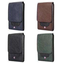 Wholesale Phone Money Wallet Case - 6.3inch Phone Wallet Leather For Iphone X 8 7 Plus 6 Plus Galaxy S8 Plus Fashion Card Slot Flip Cash Hip Waist Belt Clip Pouch Purse Money