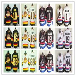 Cheap Ice Hockey 10 Pavel Bure 16 Trevor Linden 89 Alexander Mogilny Jersey  Vancouver Canucks 1 Kirk Mclean 19 Markus Naslund CCM discount vancouver  canuck ... 62296ea64