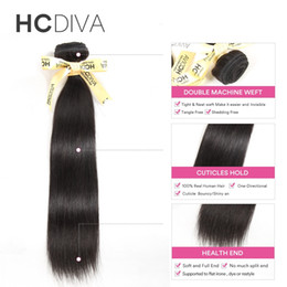 Wholesale Good Virgin Brazilian Remy Hair - 8A Grade Brazilian virgin hair 4 bundles Human Hair Bundles 4 bundles loose wave deep wave curly hair weaves HCDIVA Good Quality Remy
