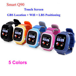 gps wifi smart watch Promo Codes - Q90 Bluetooth Smartwatch with GPS WiFi LBS for iPhone IOS Android Smart Phone Wear Clock Wearable Device Smart Watch PK Q50 Q80