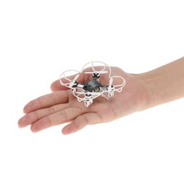 Wholesale 4ch Rc Helicopter Camera - FQ777-124 Pocket Drone 4CH 6Axis Gyro Quadcopter With Switchable Controller RTF UAV RC Helicopter Mini Drones
