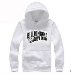 Wholesale Bbc Brand - 2017 new autumn winter brand Hoodie sweatshirt hip hop BILLIONAIRE BOYS CLUB BBC fashion men's sports fleece pullover M-3XL