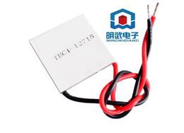 Wholesale Tec Peltier 12v - Wholesale- 2PCS 1LOT TEC1 12715 TEC 1 12715 136.8W 12V-15.4V 15A TEC Thermoelectric Cooler Peltier (TEC1-12715)