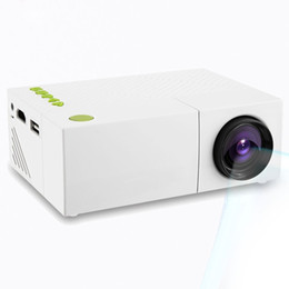 Wholesale Projection Lcd - Wholesale-Original YG310 LCD High Quality Mini Projector HD Resolution Multimedia LED Projection Apparatus for Home Cinema Office School