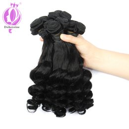 Wholesale Tangle Free Curly Hair Weave - New Style Brazilian Virgin Hair Funmi Hair Bouncy Curls 100g pc Human Virgin Curly Hair Weft no shedding no tangle free shipping