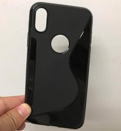 Wholesale S Line Gel Skin Case - 2017 New S Line Soft TPU For Apple iphone X 8 Plus Case Gel Skin Back Silicon Cover