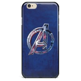 Wholesale Hulk Iphone Cases - The Avengers Cell Phone Case Caption America Thor Hulk HawkEye Iron Man Back Cover Mobile Case for Iphone 6 6S 6plus 6s Plus 7 7 PLUS