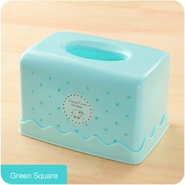 Wholesale Fabrics Tissues Free Shipping - Wholesale- 2016 Cute Pattern Tissue Box Cotton PP Fabric Tissue Holder Cover Removable Home Decoration Accessories Free Shipping