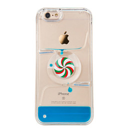 Wholesale Iphone Wheel - For iPhone 5S Case Dynamic Liquid hot wheel Transparent Hard Case For iPhone 5 SE 6 6S 6 Plus 6S Plus Phone Cases ph80