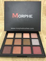 Wholesale Cheap Matte Eyeshadow Palettes - Cheap MORPHE Eyeshadow Palette 12 Colors Morphe Pick Me Up Eye Shadow Sets Waterproof Makeup Eyes Cosmetic 12S 12NB 12Z
