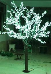 LED Artificiale Cherry Blossom Tree Light Luce di Natale 1248pcs Lampadine a LED 2m / 6.5ft Altezza 110 / 220VAC Antipioggia Uso Esterno LLFA da