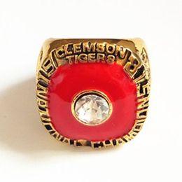 Wholesale Plates Bowls - 1981 Clemson Tigers Orange Bowl National Championship Ring size 11