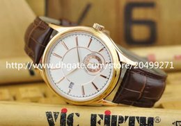 Wholesale Machinery Import - Hot New Classic fashion noble temperament luxury imported automatic machinery independent running second calendar belt man watch