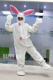 Wholesale High Quality Rabbit Costume - New Sale! High Quality Adult White Rabbit Funny Home Party New Year Part Animal Adult Cosplay Costumes Performance Clothing