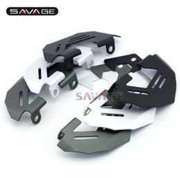 Wholesale Brake Caliper Covers Front - For BMW R1200GS LC Adv 13-16, R1200R R1200RS S1000XR 15-16 Motorcycle Aluminum Front Left & Right Brake Caliper Cover Guard