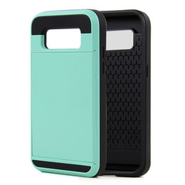 Wholesale Iphone Stylish Wallet Covers - Stylish Design New Product PC+TPU Slidding Wallet Mobile Phone Case Cover with Card Slots for Samsung G360 G530