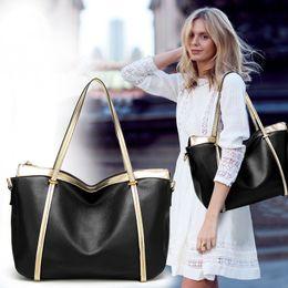 Wholesale Burgundy Fur Wool - New European and American fashion handbags, large color collision, large capacity, single shoulder oblique shoulder bag tide