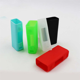Wholesale Evic Casing - EVIC VTC Mini Silicone Case Colorful Non Slip Conservation Protective Rubber Sleeve Cover Skin Bag Proof Dust For Joyetech Evic VTC Mini