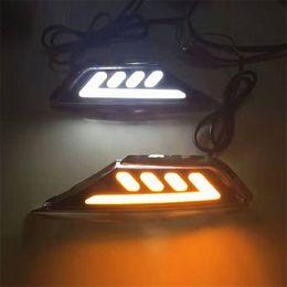 Wholesale Civic Led - Car Flashing 1 set For Honda Civic 10th 2016 2017 Turning LED Side Marker Light Fender Turn DRL Daytime Running Light Daylight