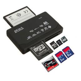 Wholesale Internal Cf Card Reader - Multi in 1 All in One Memory Card Reader USB External SD SDHC Mini Micro M2 MMC XD CF Free DHL TNT